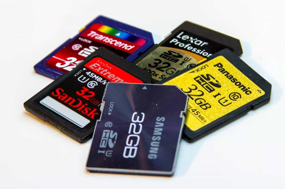 le migliori memory card
