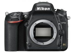 Nikon full frame d750
