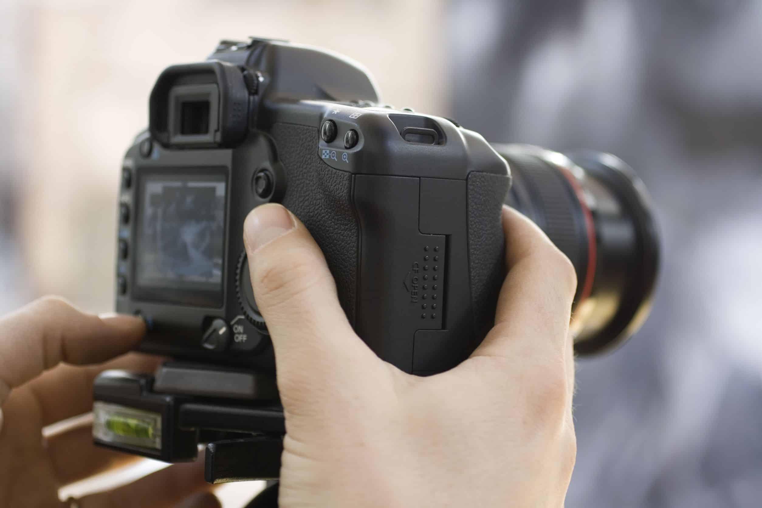 fotocamera full frame, sensore APS-c