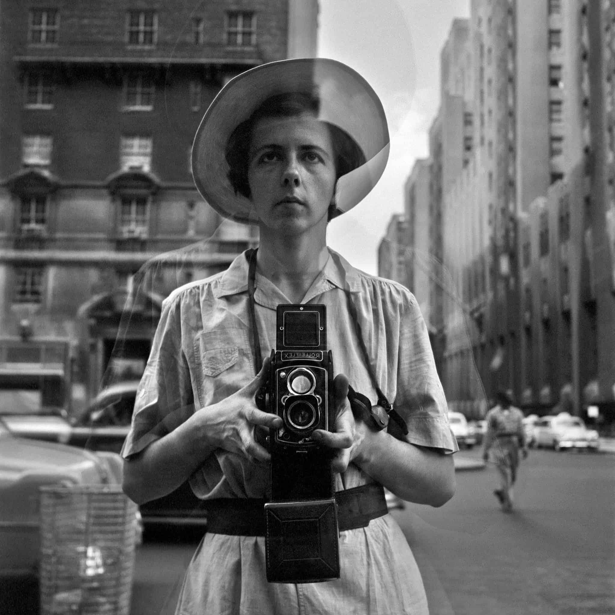 autoritratto fotografico, Vivian maier, self portrait