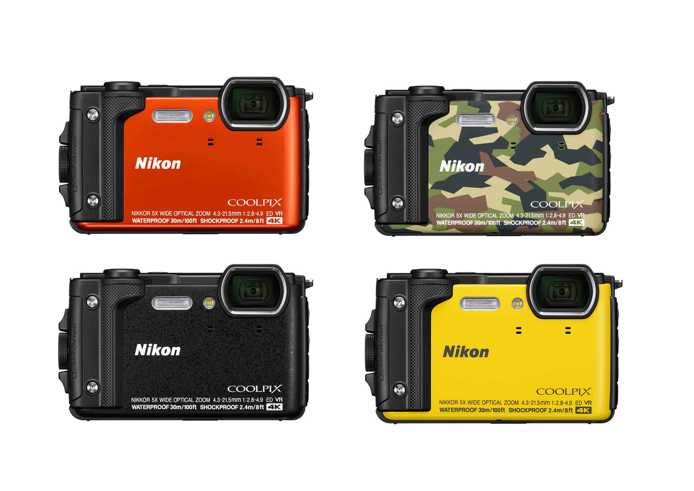 nikon coolpix w300, fotocamera subacquea