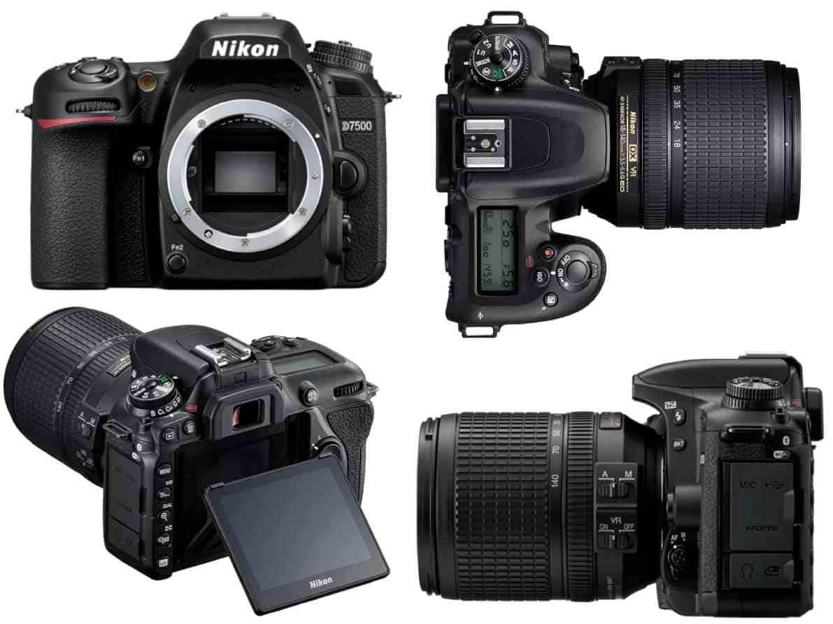 Nikon D7500 fotocamera reflex