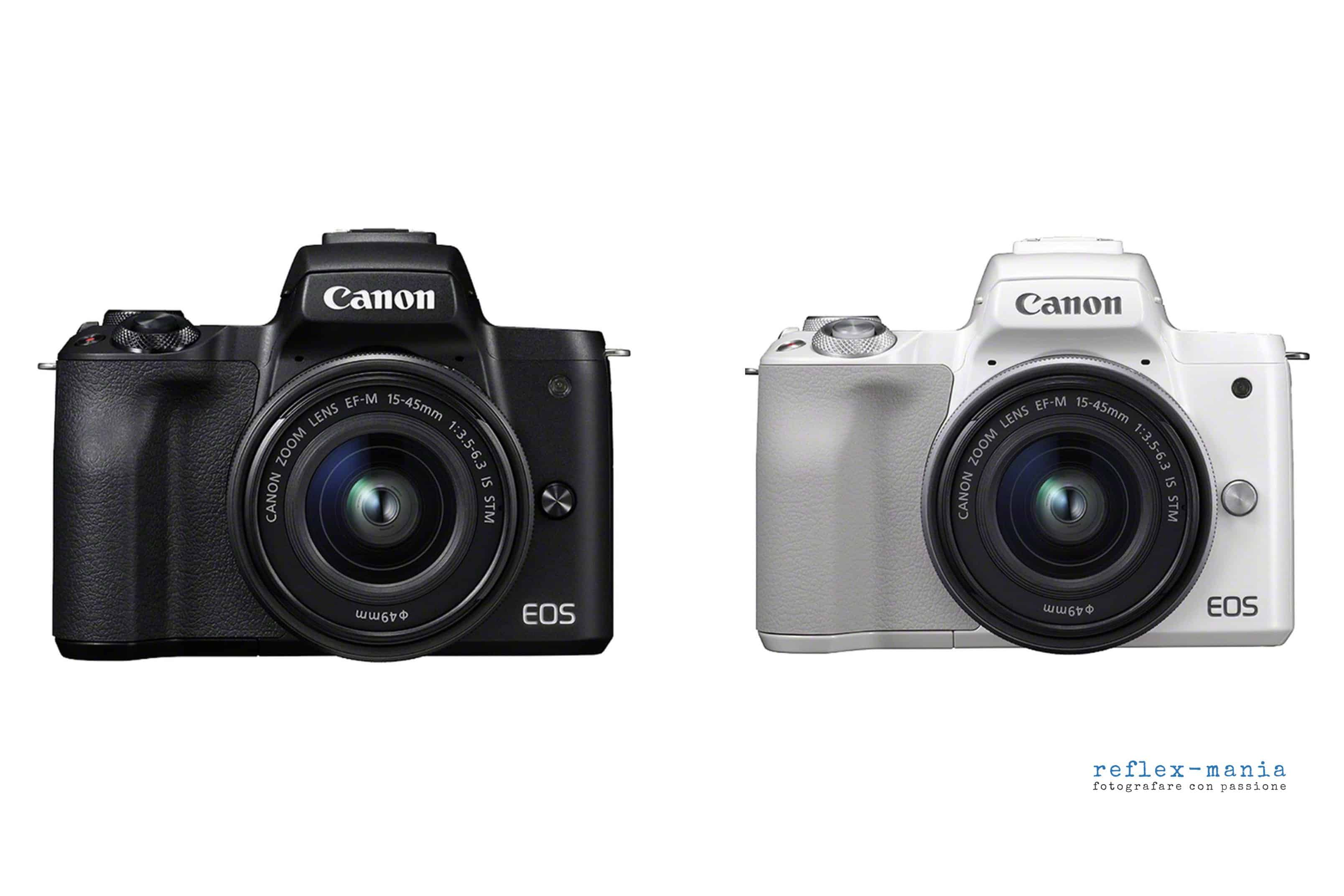 Canon Eos M50, mirrorless