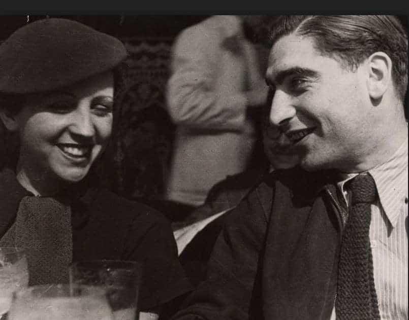 Gerda Taro e Robert Capa a Parigi