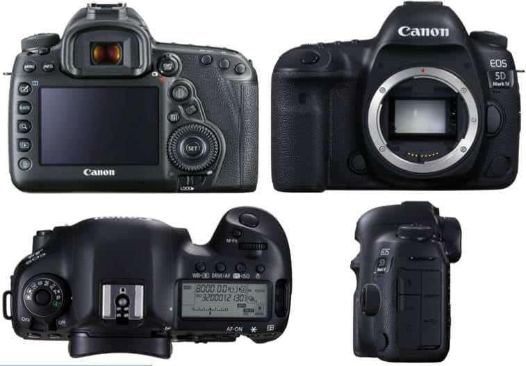Fotocamera Canon Top di gamma