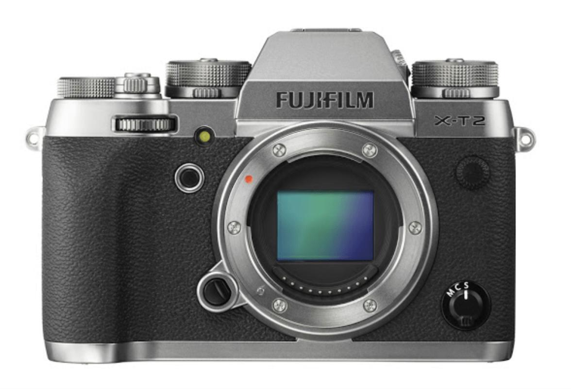 Fuji XT2, sensore