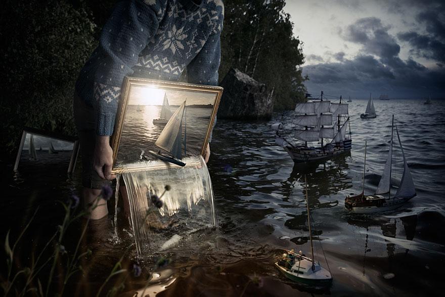 Set Them Free by Erik Johansson