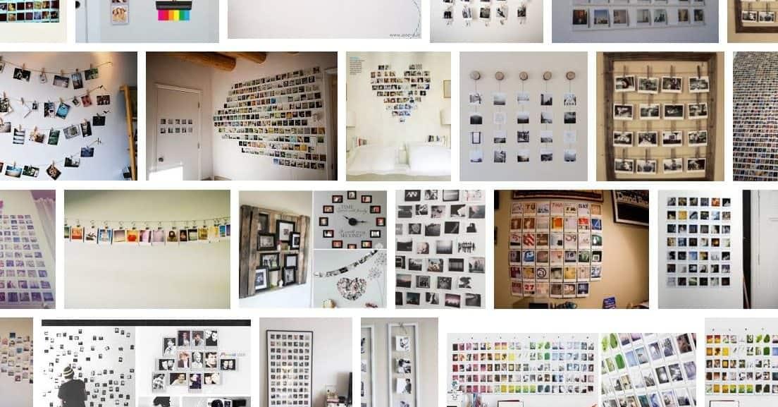 collage foto polaroid