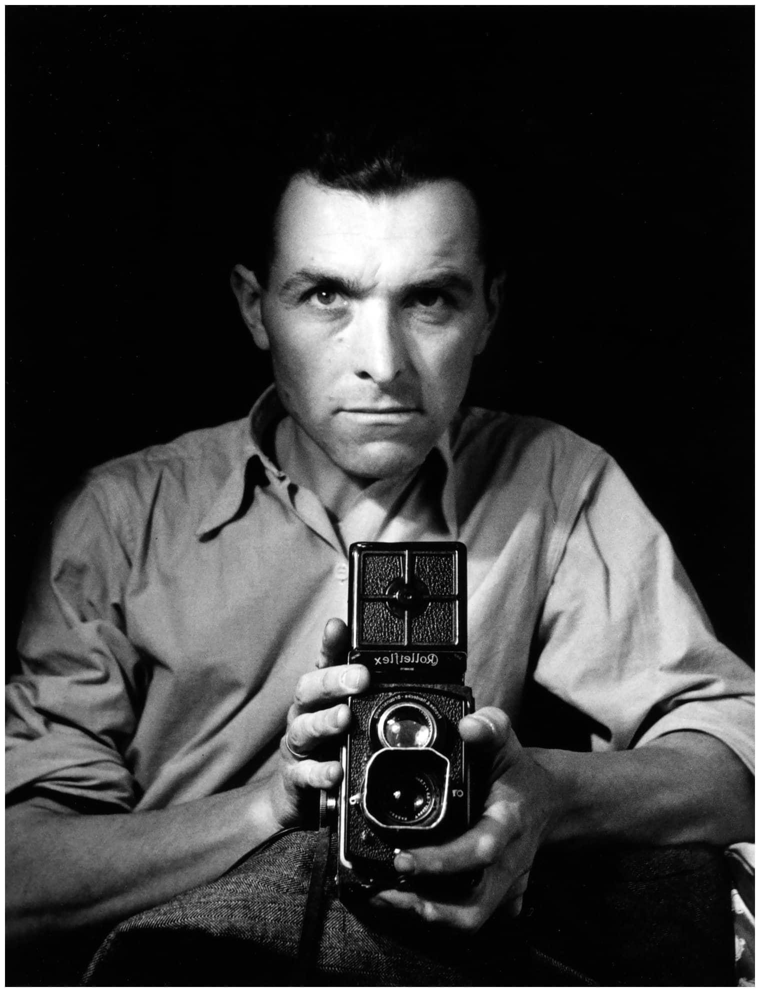 autoritratto fotografico, autoritratto Robert Doisneau, Robert Doisneau