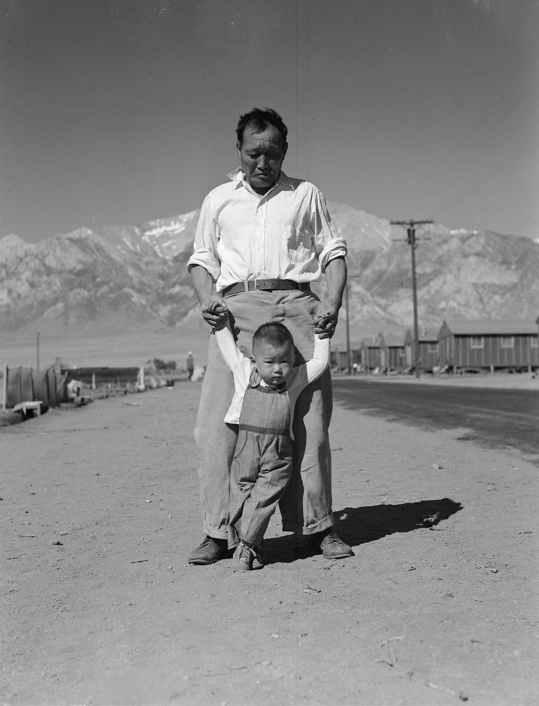 padre e figlio dorothea lange