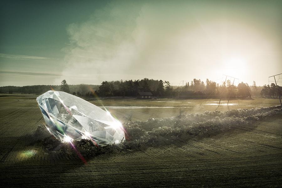 Diamond in the rough by Erik Johansson