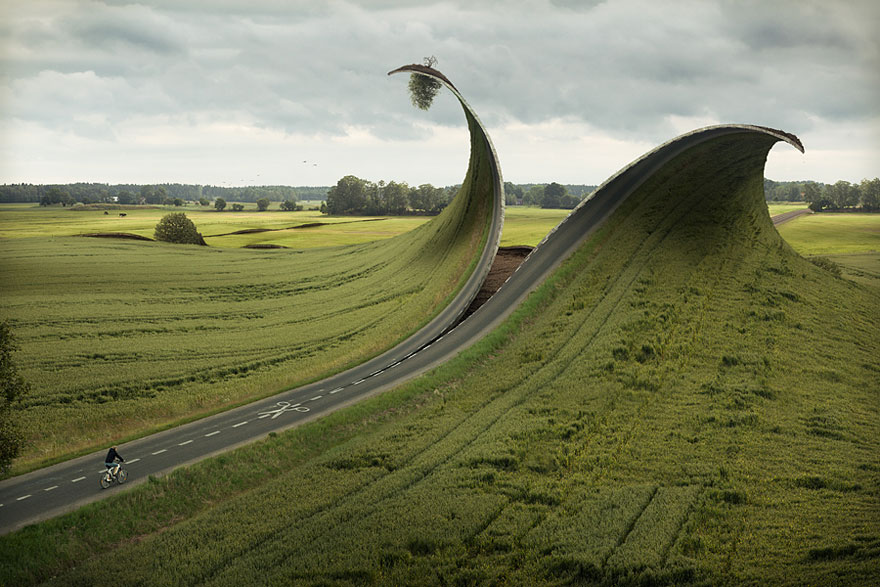 Cut & Fold by Erik Johansson