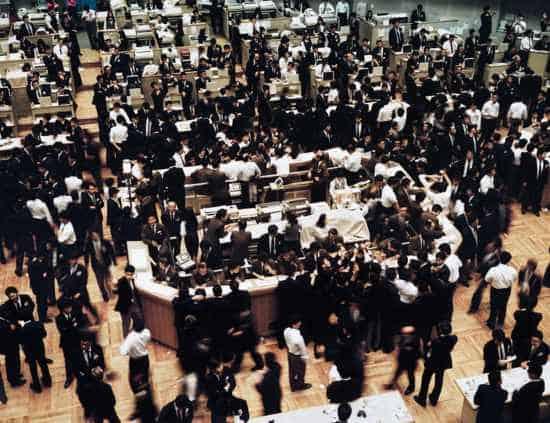 tokyo stock exchange gursky