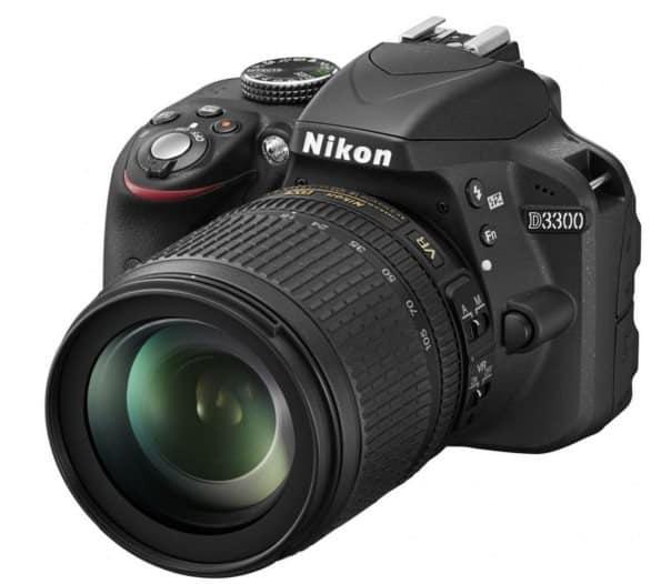 Nikon d3300 18-105 mm