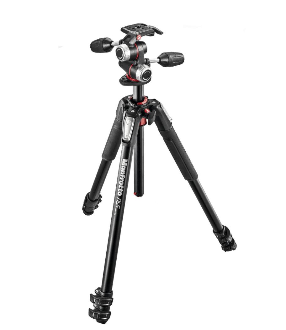 Manfrotto 055 XPRO3, treppiedi, tripod