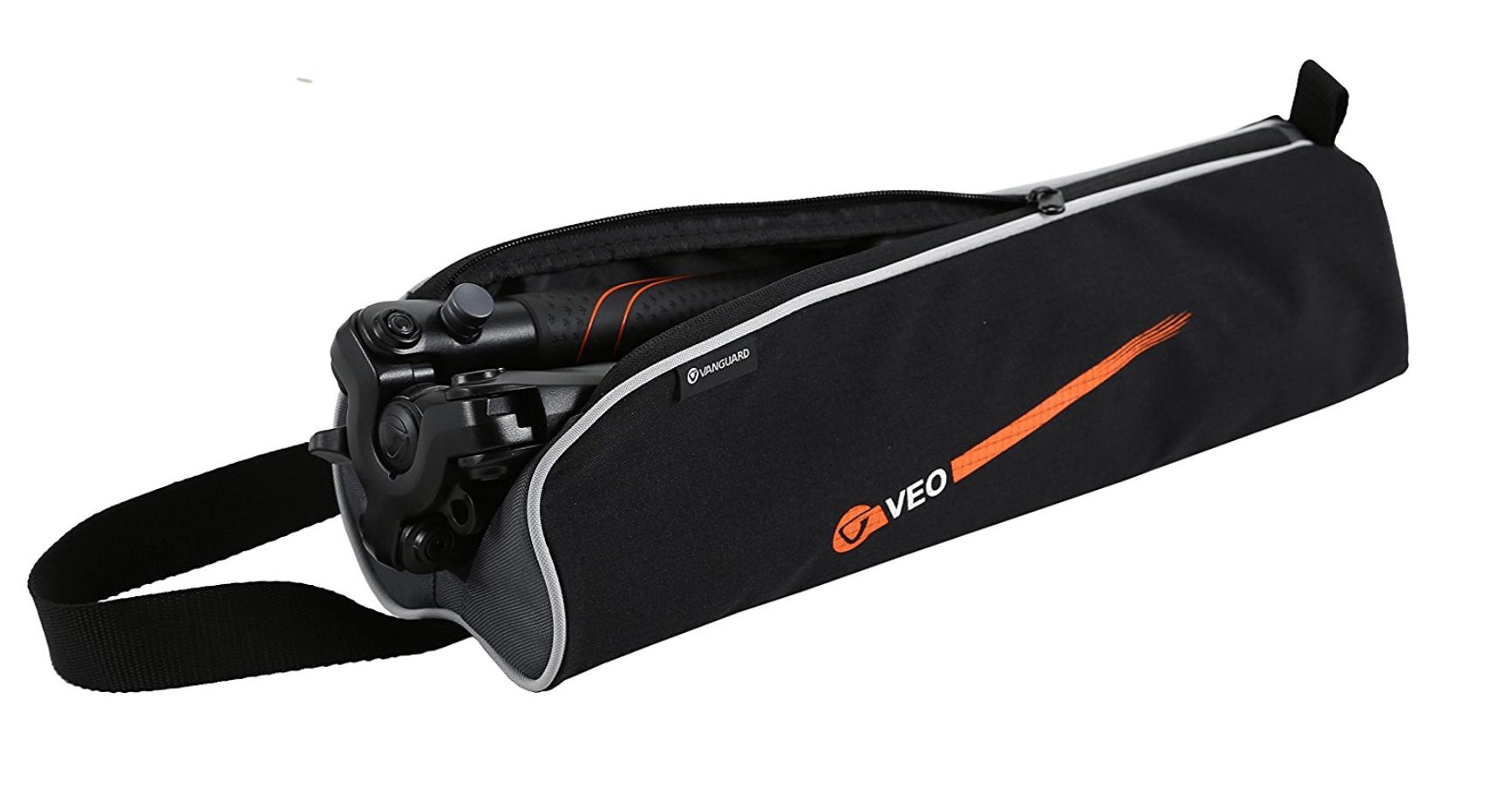 Vanguard Veo 204AB, treppiedi