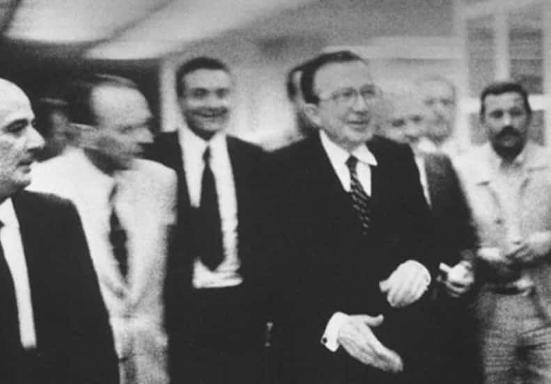 Andreotti e Nino Salvo