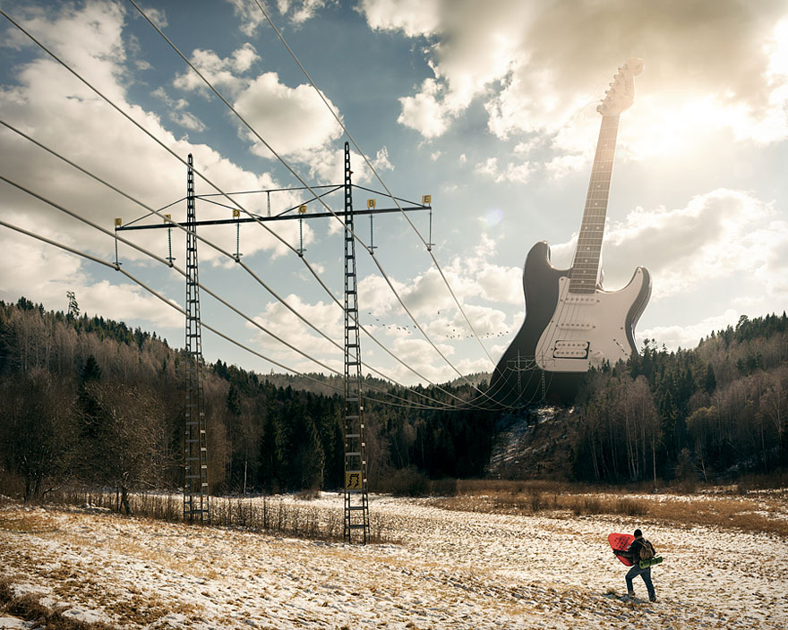 Electric Guitar by Erik Johansson