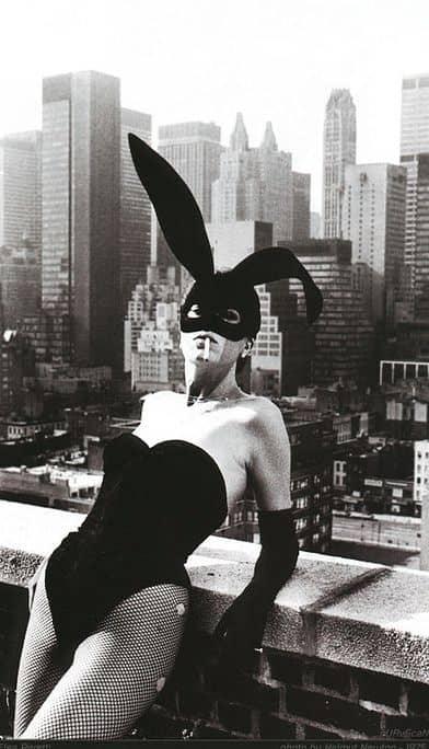 Elsa Peretti ritratta da Helmut Newton