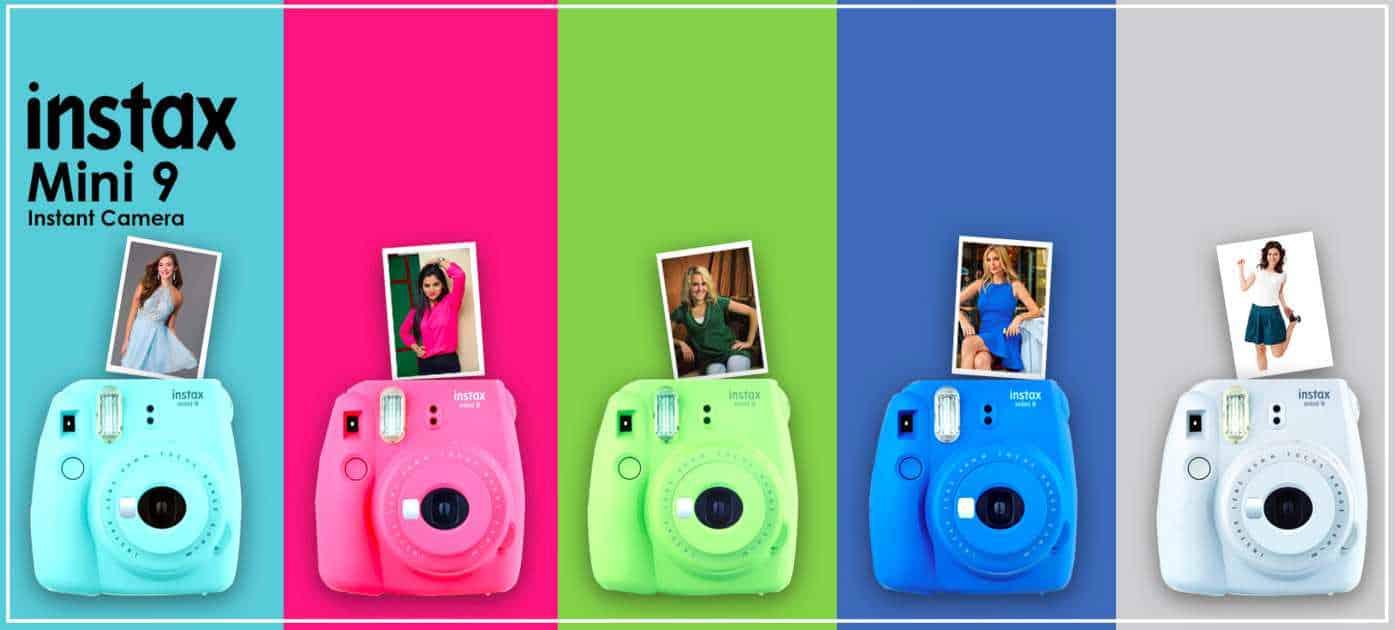 Fujifilm instax mini 9 colori