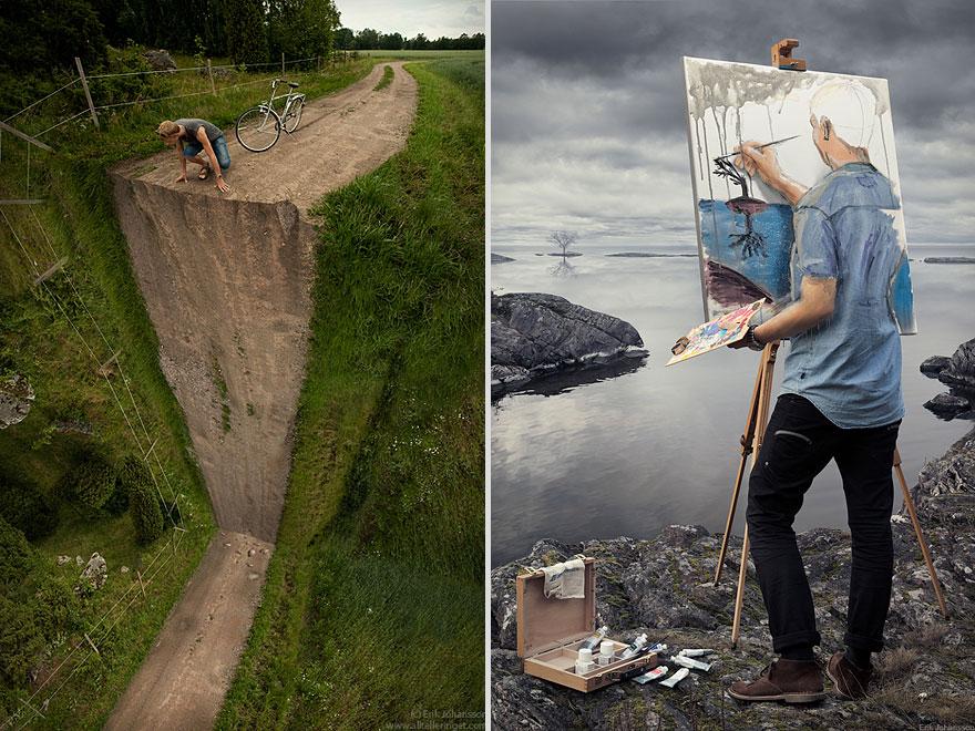 Vertical Turn Self-Actualization by Erik Johansson