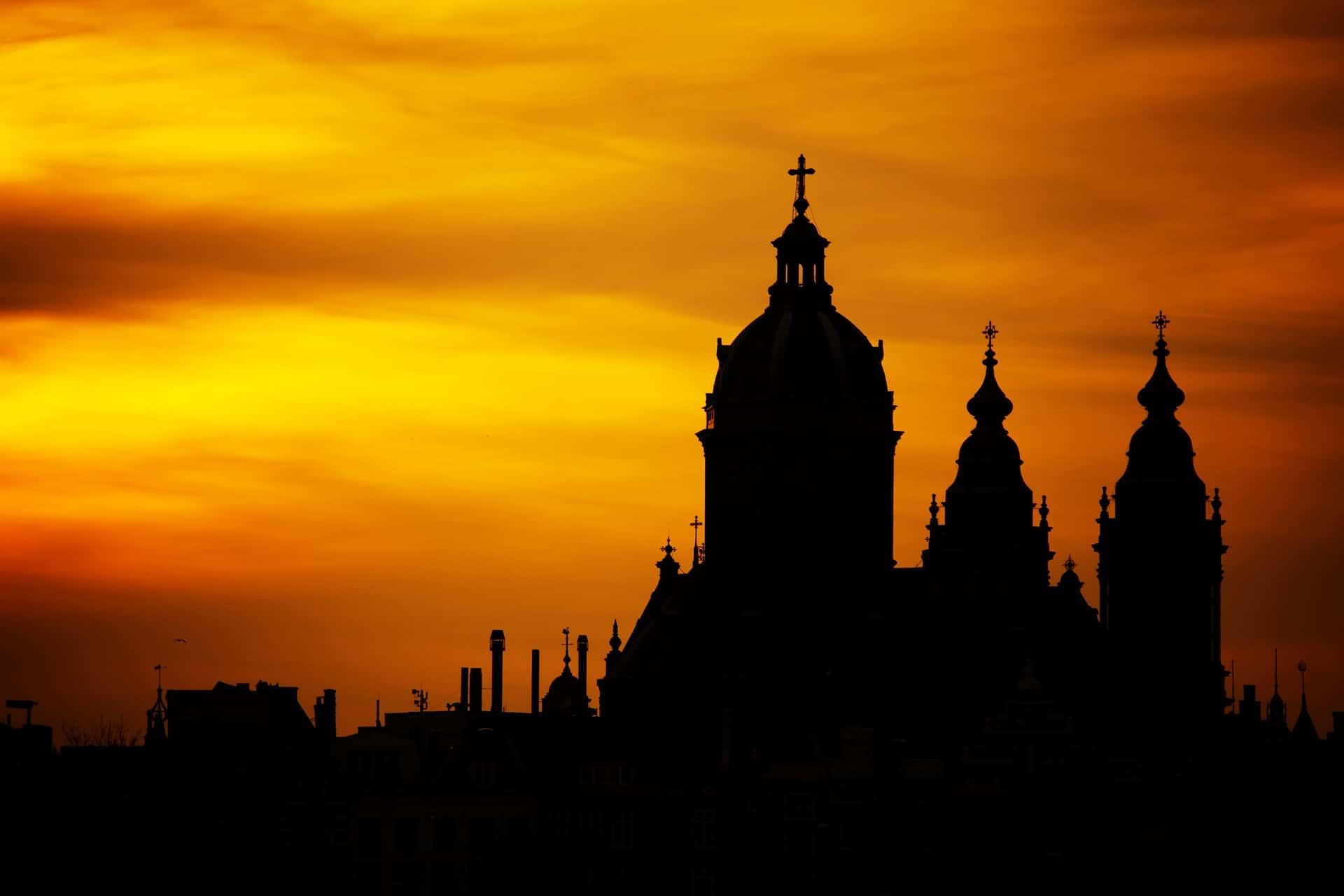silhouette fotografia, silhouette, skyline