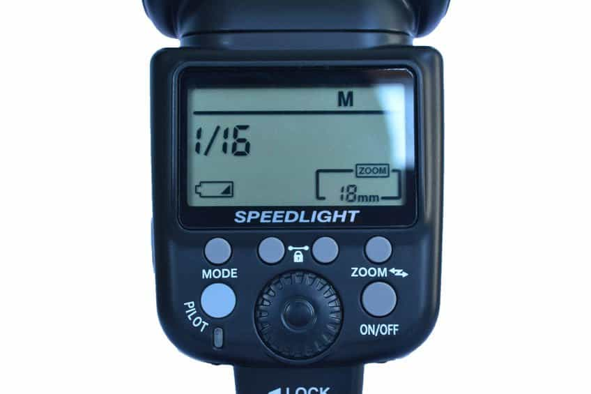 flash reflex, display lcd flash