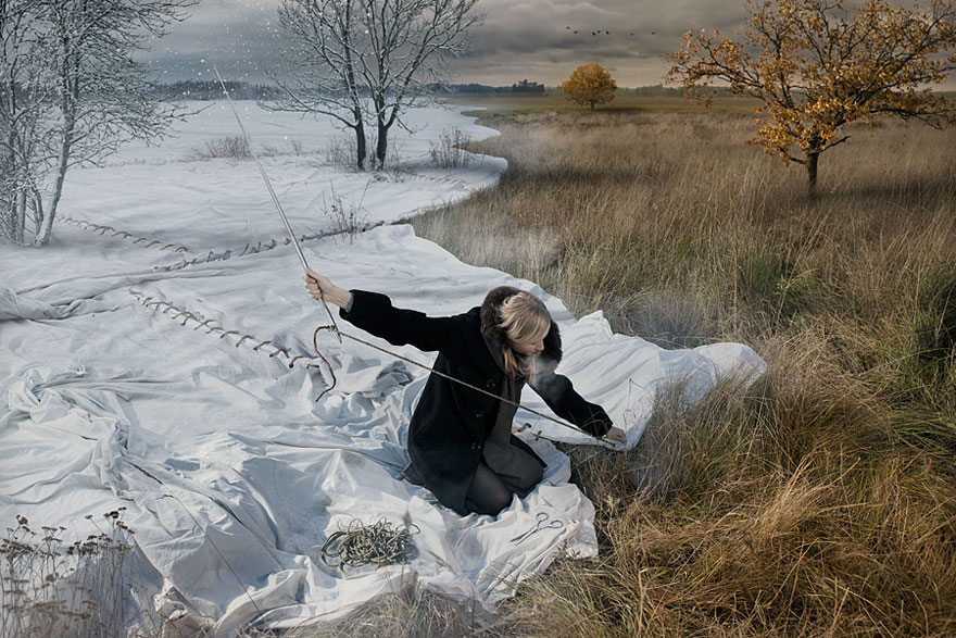 Expecting Winter by Erik Johansson