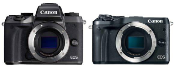 Canon M6 Vs Canon M5
