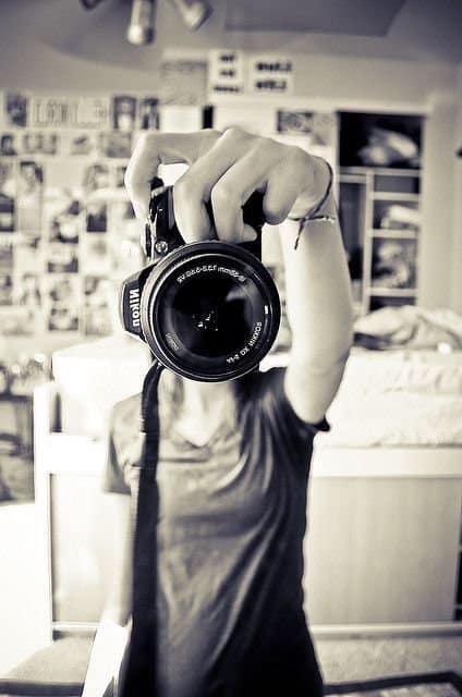 autoritratto fotografico