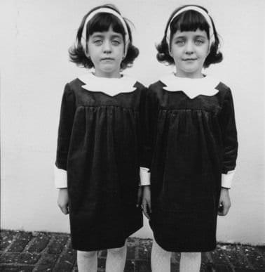 identical twins arbus