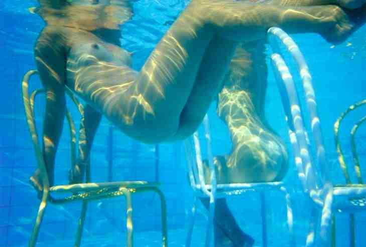 Franco Fontana nudi piscina