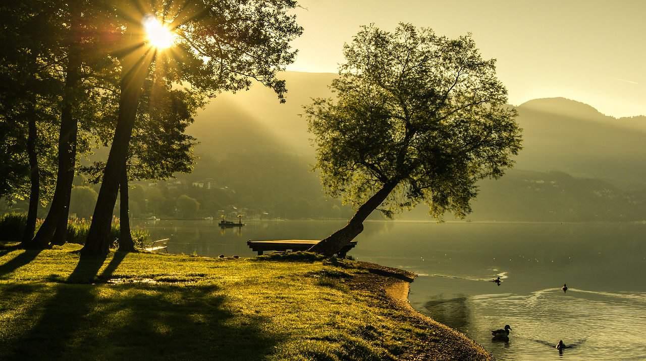 5 fotografare l'alba