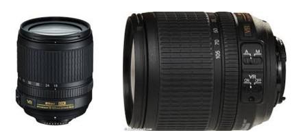 Obiettivo Nikon 18-105 mm