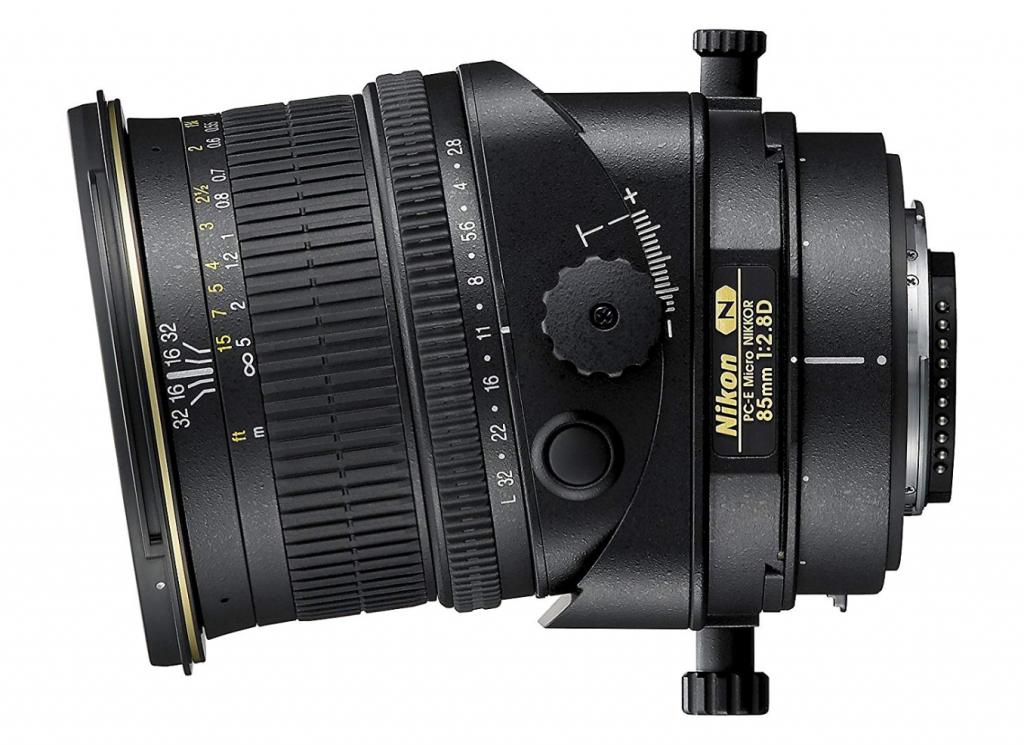 obiettivi tilt shift, obiettivi tilt shift Nikon