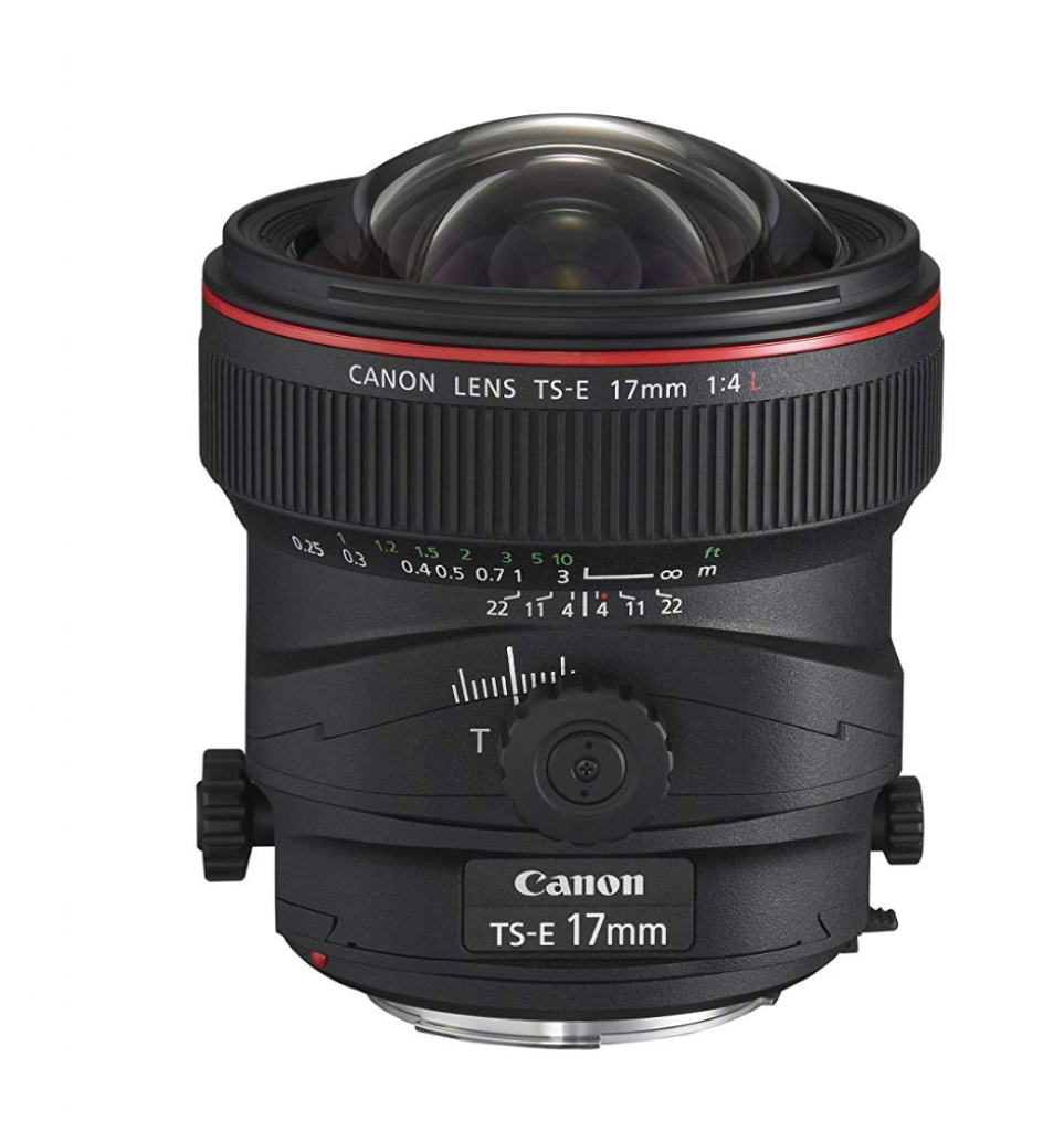 obiettivi tilt shift, obiettivi tilt shift Canon