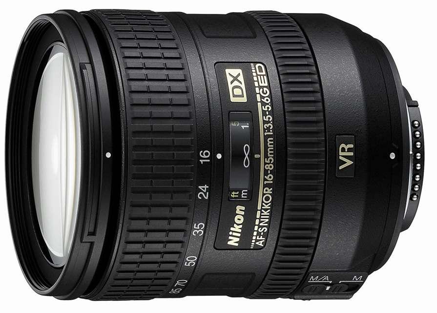 Recensione Nikon 16-85 mm