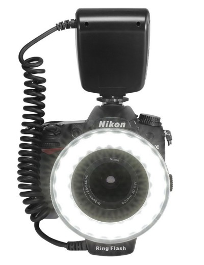 ring flash per macrofotografia
