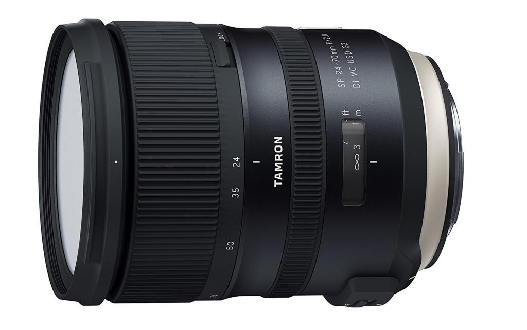 AF-S Nikkor 24-70mm F2.8 G ED, Tamron Obiettivo per Canon, 24-70mm F/2,8 Di VC USD G2