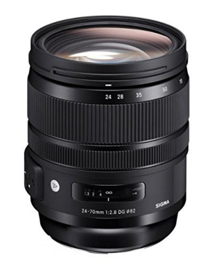 AF-S Nikkor 24-70mm F2.8 G ED, Sigma 24-70 mm F 2.8 DG Obiettivo per Canon