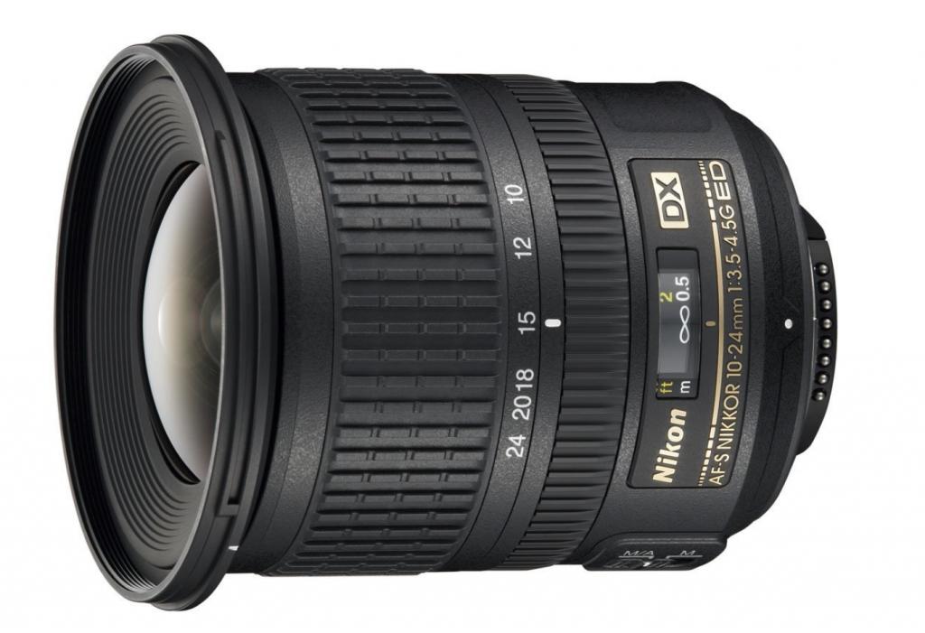 AF-S Nikkor 24-70mm F2.8 G ED, Nikon Obiettivo Nikkor AF-S DX 10-24 mm f/3.5-4.5G ED, Nero [Versione EU]