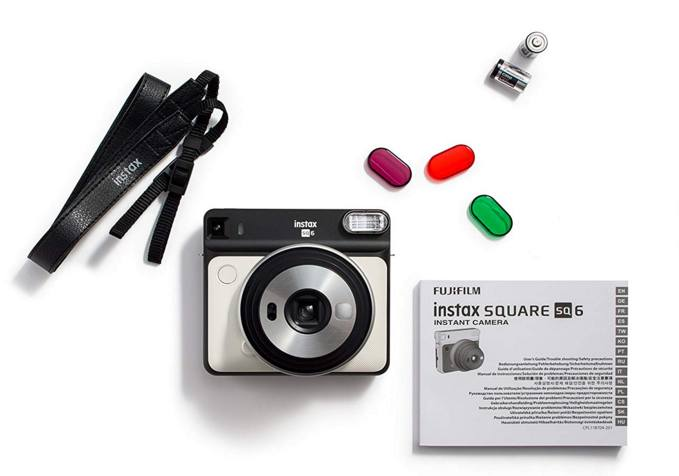 fujifilm instax square sq6 flash colorati