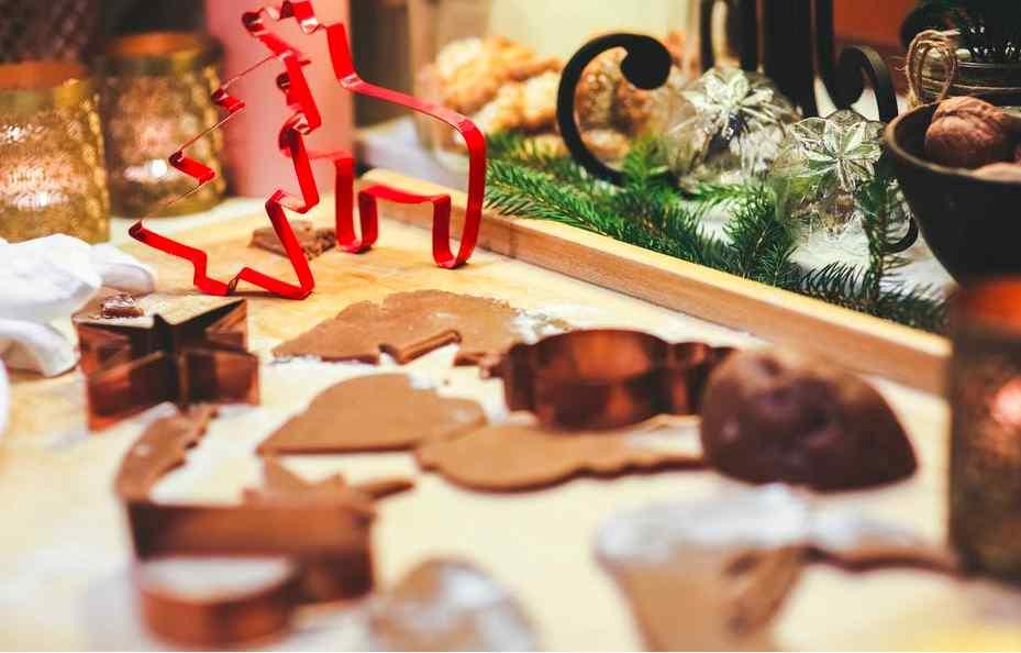 cibo natalizio foto