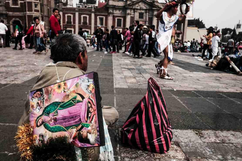 Fotoreportage alla Basilica de la Virgen de Guadalupe
