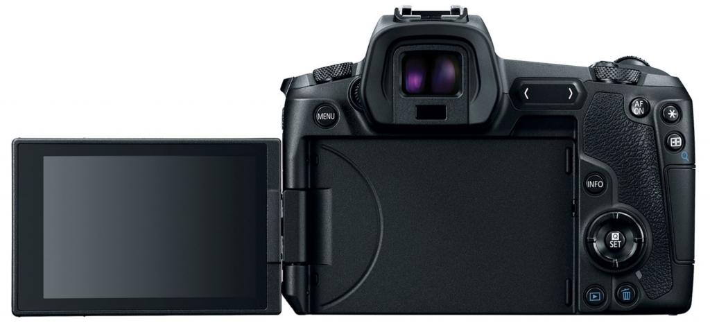 Canon Eos R, mirrorless, full frame