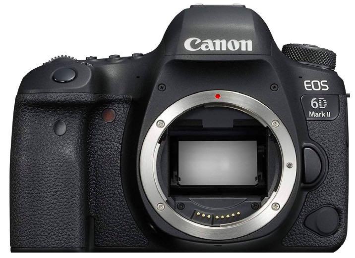 Canon EOS 6D MARK II recnesione