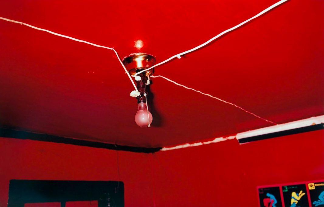 soffitto rosso eggleston