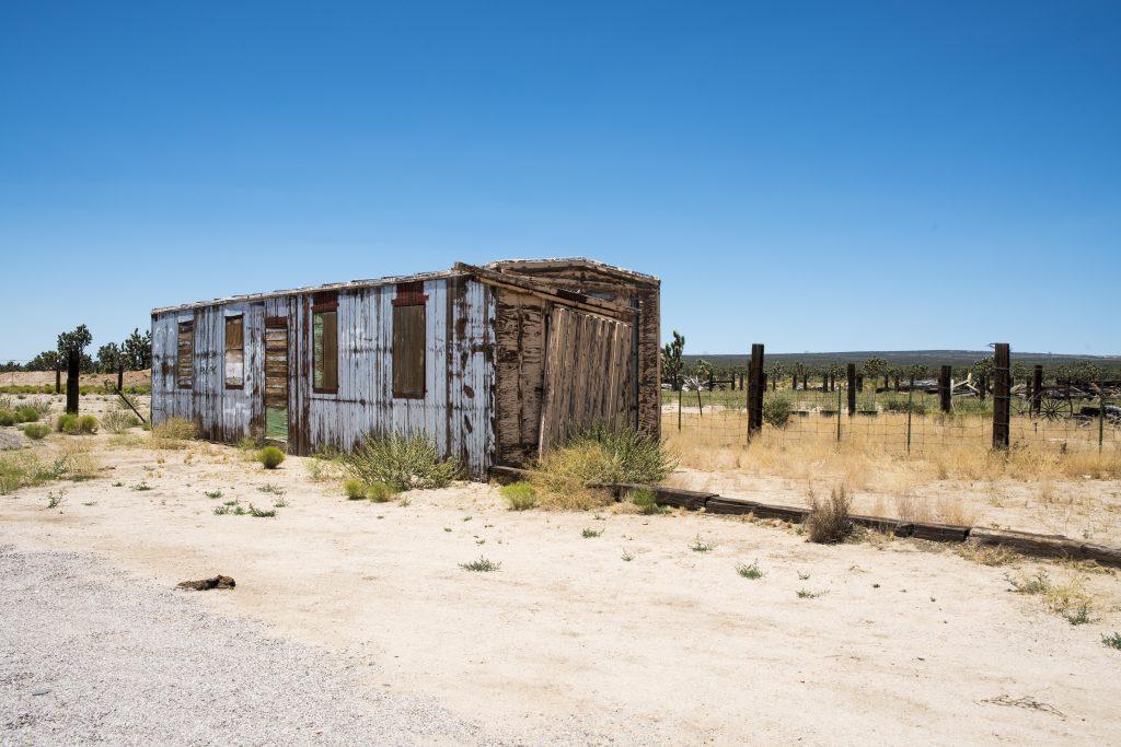Stazione abbandonata, Utah.