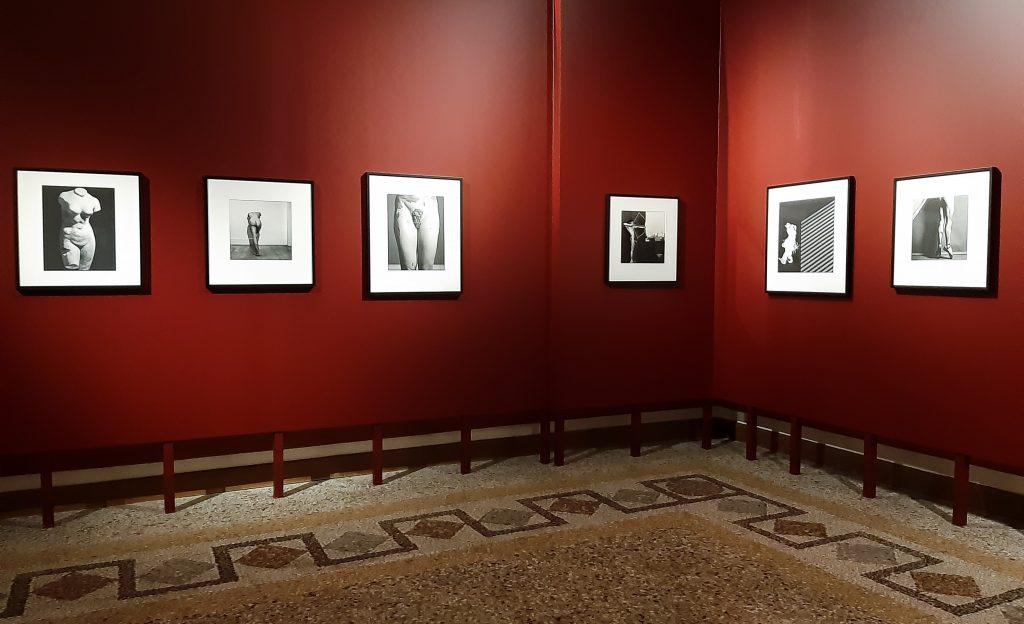 Mostra Robert Mapplethorpe: Sala Rossa della Galleria Corsini