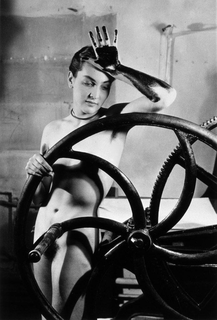 Ritratto di donna di Man Ray